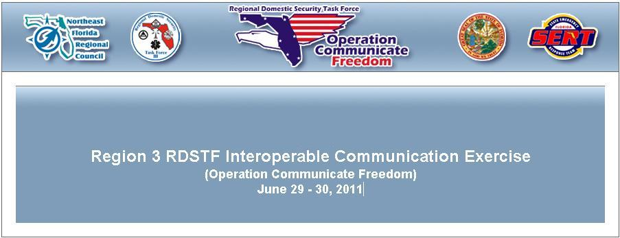 Region 3 RDSTF Interoperable Communication Exercise#000000